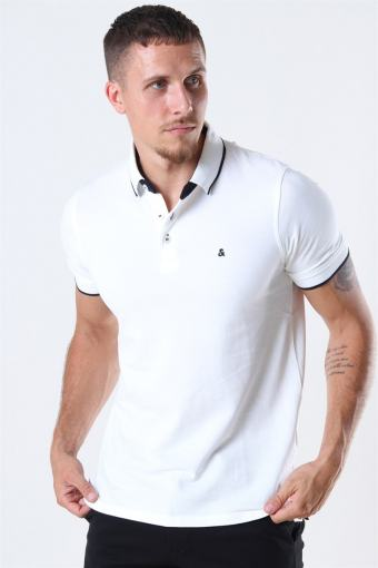 Jack & Jones Paulos Polo SS White