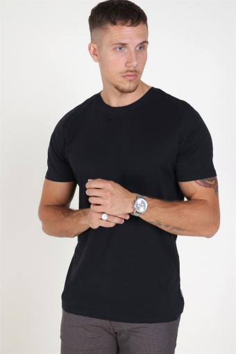 Organic Basic Tee SS O-Neck Noos Black