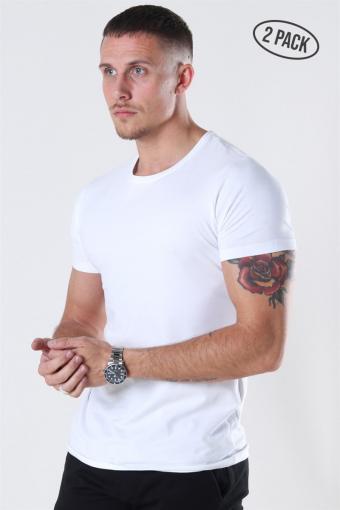 Shape T-shirt 2-Pack White