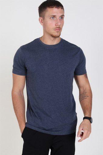 Rock S/S Organic T-shirt Navy Melange