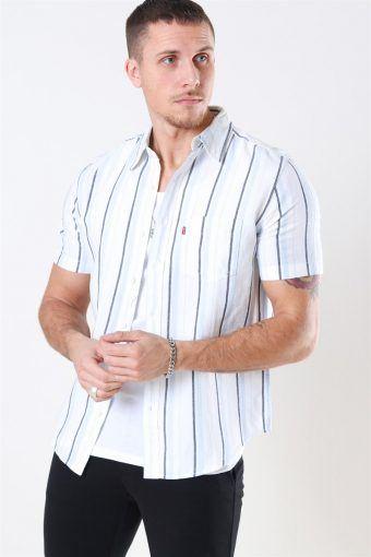 Classic 1-Pocket SS Shirt Alton Cloud Dancer