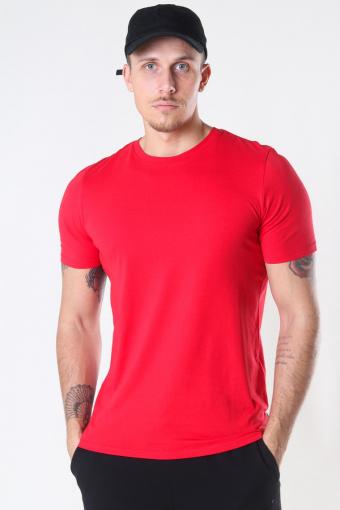 Organic Basic T-shirt True Red