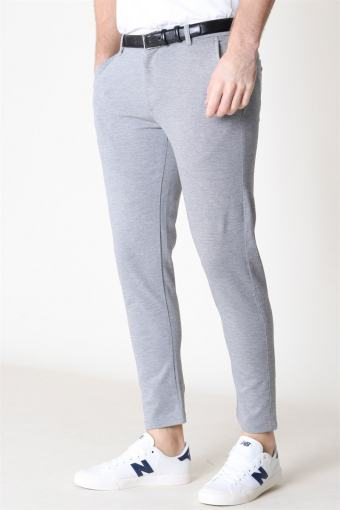 Dave Barro Pants Grey Melange