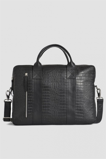 Dundee Brief 2 Room Black Croco