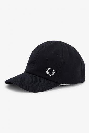 PIQUE CLASSIC CAP 464 BLACK