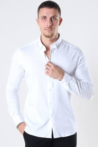 Mos Mosh Marco Jersey Shirt White