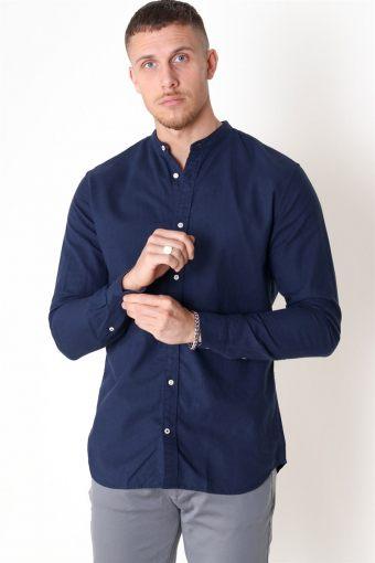 Summer Band Shirt L/S Navy Blazer