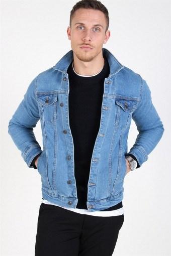Kash Denim Jacket Light Blue
