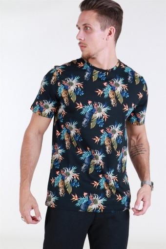 Leif SS AOP T-shirt Flower
