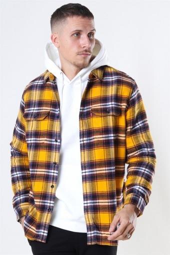 Jackson Worker Shirt Golden Yellow