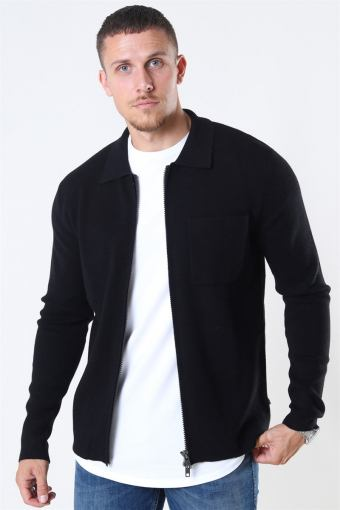 Tailored & Originals Rasmus Knit Black