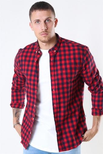 Johan Check Gr. 18 Shirt Red