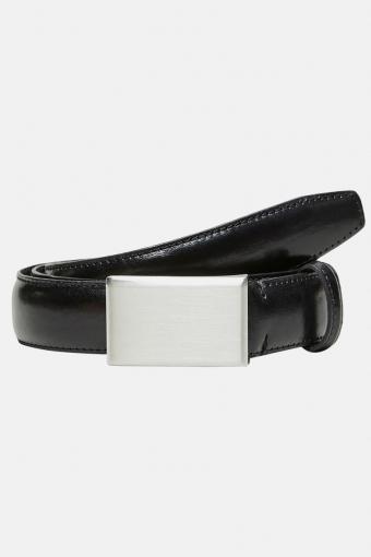 Fillip Formal Plate Belt Black