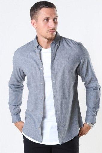 Blalogo Autumn Shirt L/S Grey Melange