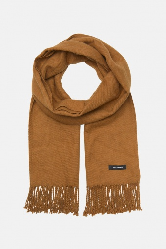 JACSOLID WOVEN SCARF NOOS Rubber