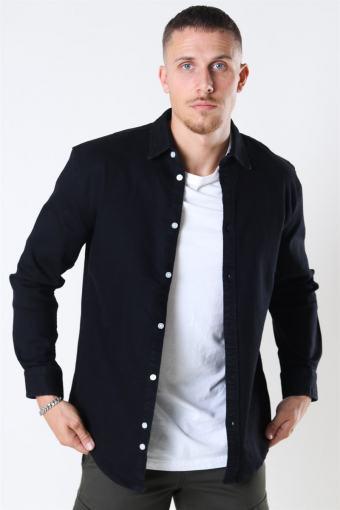 Lenny Denim Shirt Black