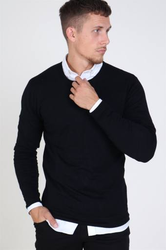 Tailored & originals Mont Knit Black
