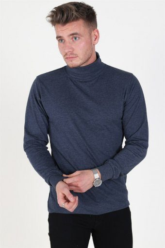 Turtleneck Heather Blue