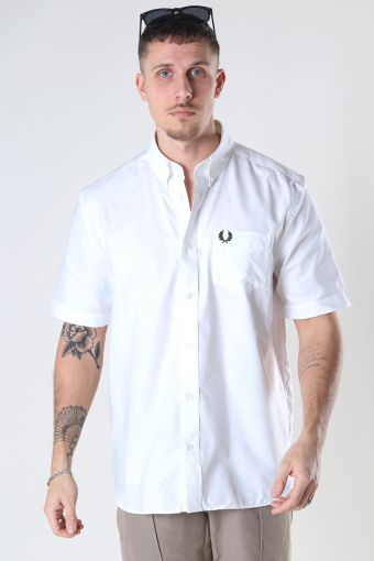 S/S OXFORD SHIRT 100 White