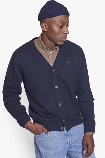 Koon Wool Cardigan Navy