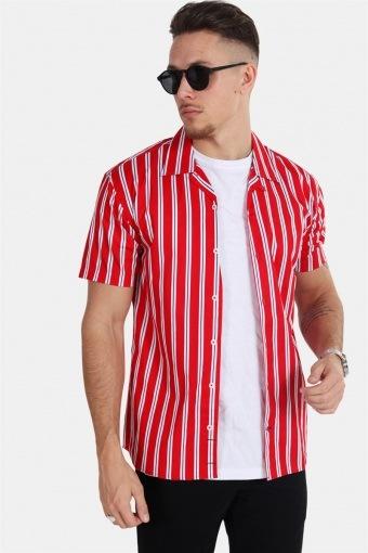 Cuba S/S Gr.81 Shirt Red/White/Blue