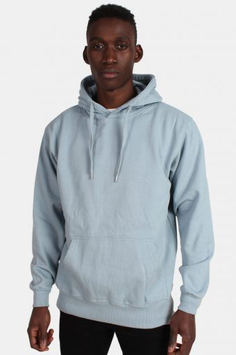 Hooded Sweatshirts Dusty Blue