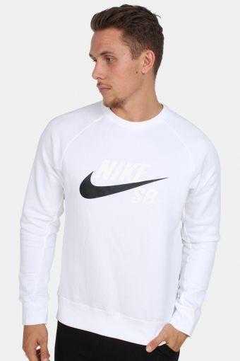 SB Icon Crewneck Sweatshirts White