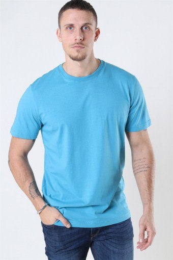 Norman 180 SS O-Neck T-shirt Bluejay