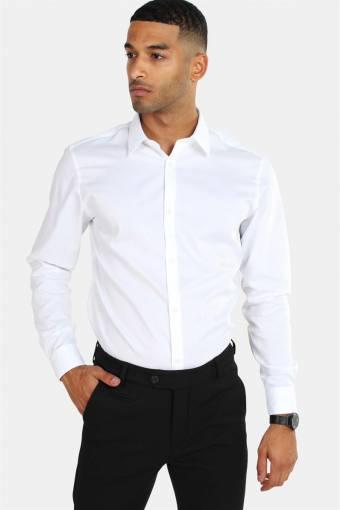 Non Iron Shirt L/S White