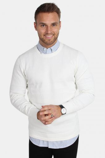 Hannes Knit Off White