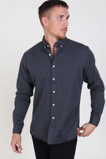 Clean Cut Sälen Flannel Shirt Charcoal