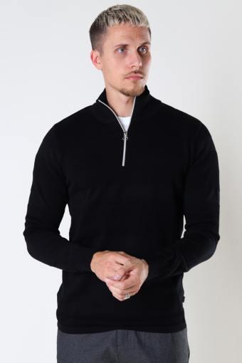 Hannes Half zip Black