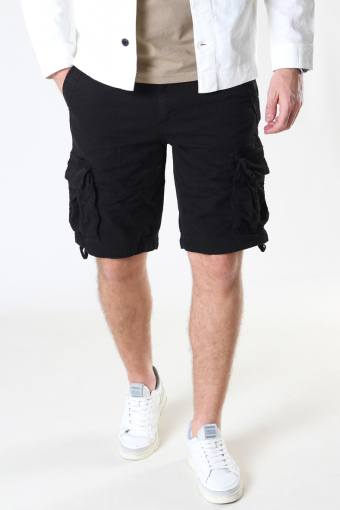 Rufo Cargo Shorts Black
