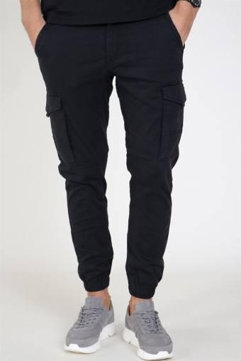 Paul Flake Cargo Pants Black