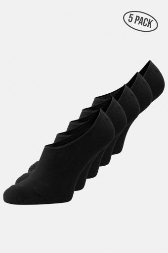 Basic Multi Invisible Strømper 5-Pack Black