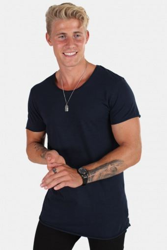 T-shirt Neck Noos Navy Blazer Reg Fit