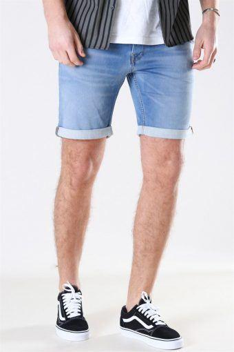Rick Icon 003 Shorts Blue Denim