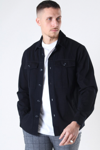 Loke Overshirt Black