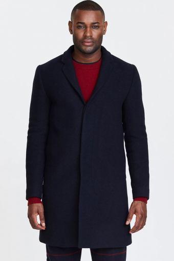 Frielle Tailored Frakke Navy