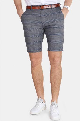 Jason Chino Shorts English Grey Check
