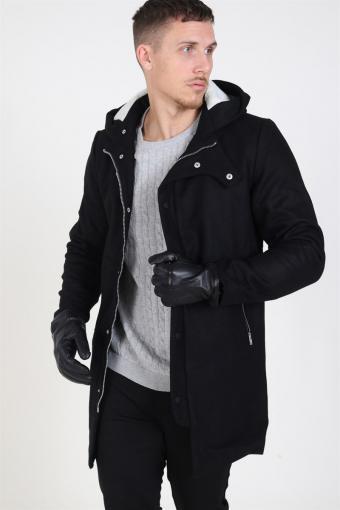 Tor Wool Jacket Black