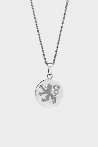 Lionheart Pendant Ketting Silver