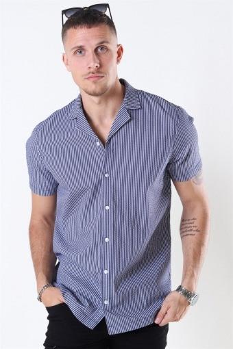 Brando SS Cuba Shirt Insignia Blue