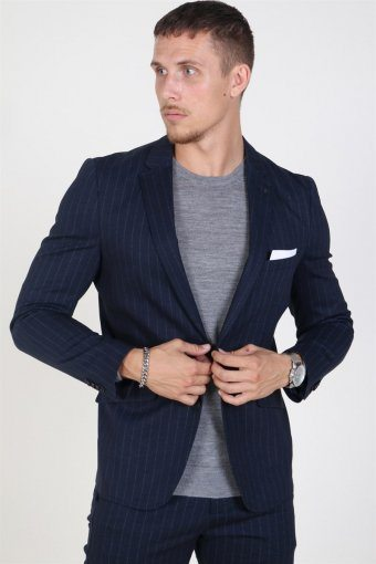 Daze Jersey Pin Blazer Navy Pin