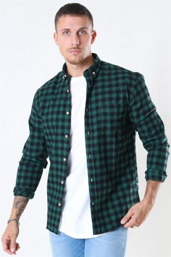 Johan Check Gr. 18 Shirt Green