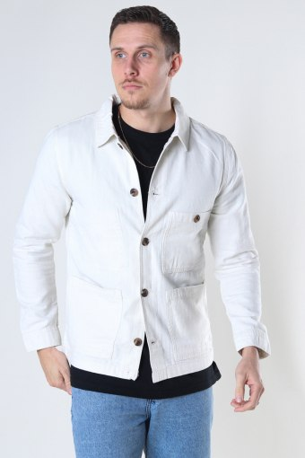 SLHWINSTED BLAZER JACKET W Bone White
