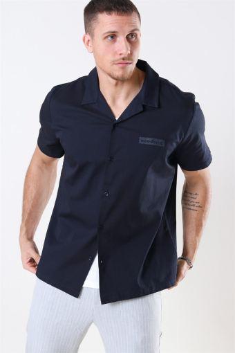 Lil Cuban Shirt Navy