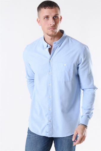 Johan Linen Shirt Light Blue