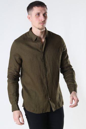 Tailored & Originals TOArmin LS Dark Olive