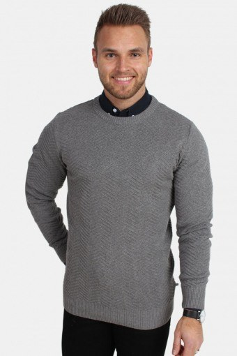 Carlo Knit Anthracite Mel